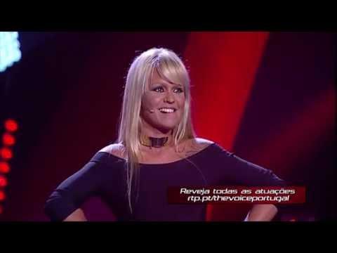 """Aurea - """"When I Was Your Man""""  Provas Cegas  The Voice Portugal"""