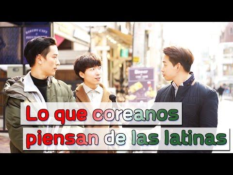 Lo que coreanos piensan de las latinas | Korean guys