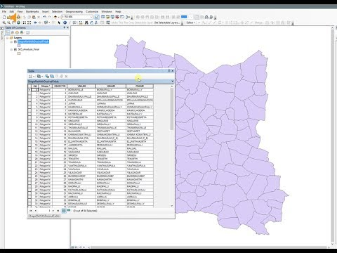 ArcGIS 10 x - Export to new shapefile with only desired fields