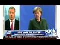Nigel Farage: Angela Merkel Paying Migrants to Leave Germany