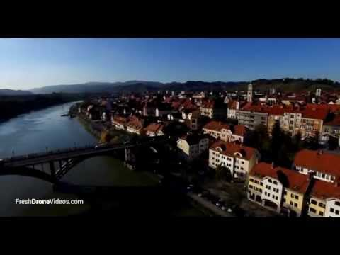 Maribor, Slovenia in under 1 minute - Aerial Video & Photography