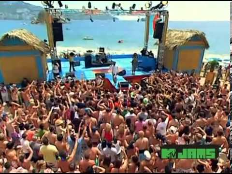B O B Feat Bruno Mars   Nothing on you  Mtv Spring Break 2010  Dj wow