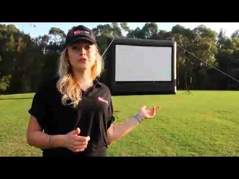 Big Screen Hire | Inflatable Screen | Inflatable Movie Screen
