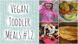 Vegan Toddler Meals #12 -  Rainy Day Fun!