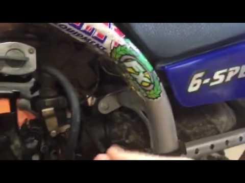 Blaster carburetor tear down part 1