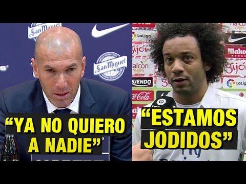 Zidane hace polemicas declaraciones contra el Madrid | Marcelo: 'Estamos Jodidos' | Fichajes