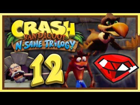 CRASH BANDICOOT N-SANE TRILOGY #12: Rutschgefahr dank Regen & roter Edelstein! [1080p] ★ Let's Play