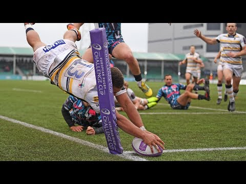 Warriors vs Stade Francais highlights 18/19 ECC