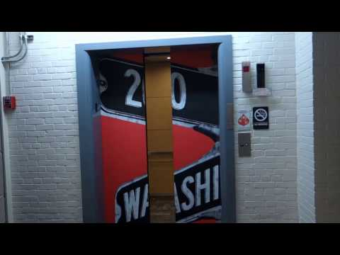 Toilet & Elevator Tour: Old Bathrooms & Old Elevators At The Grand Building