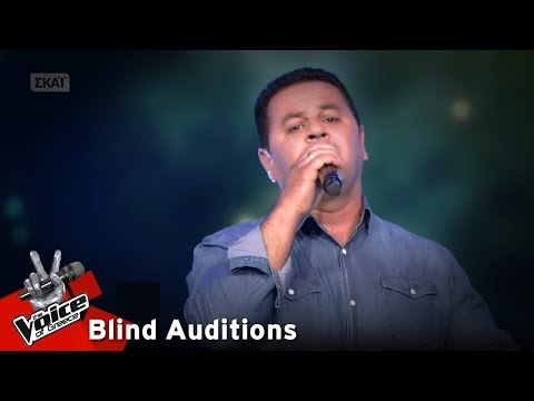 The Voice of Greece | Samir Al Beleati | 1o Blind Audition