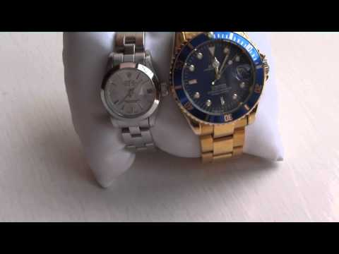 Novelty Rolex Watches...seen together, working