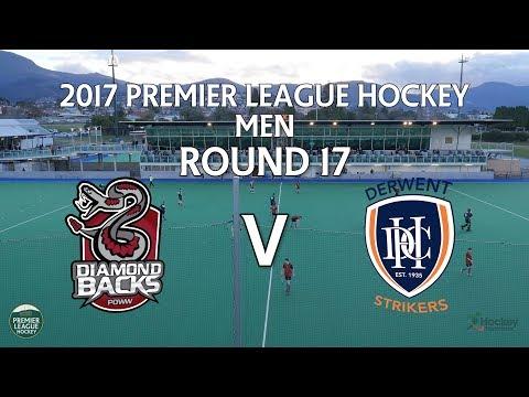 Diamondbacks v Derwent   Men Round 17   Premier League Hockey 2017