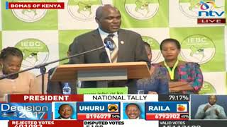 Video Wafula Chebukati's speech upon the announcement of the Presidential Results download MP3, 3GP, MP4, WEBM, AVI, FLV Agustus 2017