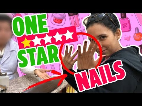 I WENT TO THE WORST REVIEWED NAIL SALON ON YELP IN MY CITY   Mar
