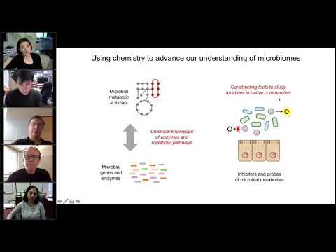 Biochemistry and chemical biology webinar: Small molecules, big molecules, and beyond