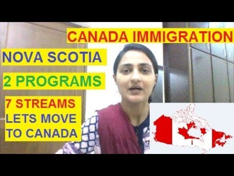MOVE To NOVA SCOTIA With 7 EASY STREAMS - CANADA IMMIGRATION