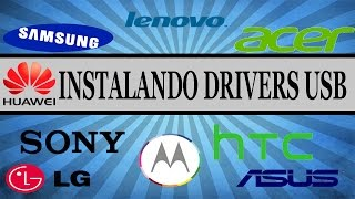 Como Instalar Drivers do Android no PC // Qualquer Android