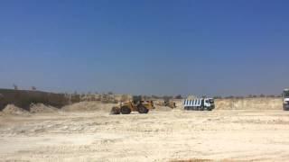 الجيش يزيل مزارع الزيتون التابعة له فى مسار قناة السويس الجديدة