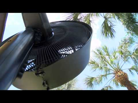 Repeat Newair AF-600 18-Inch Outdoor Misting Fan by Sassy