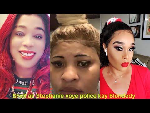 Shell creole ak Stephanie voye police 👮♀️ kay Blondedy