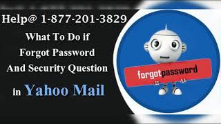 Yahoo Mail Password Recovery Number | Yahoo Reset Phone number