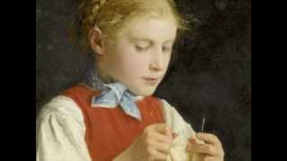 """Franz Joseph Haydn """"Das strickende Mädchen"""" Hob.XXVIa:1"""