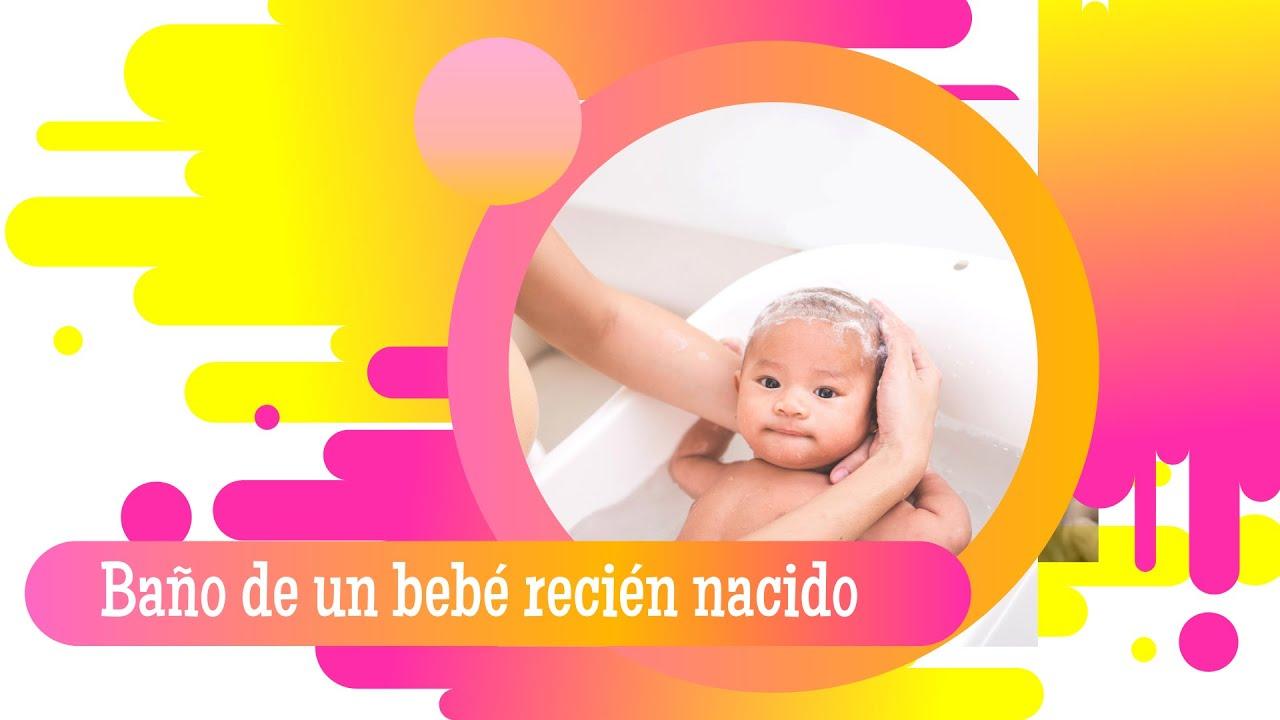 Ba ando a un beb reci n nacido la casita de agua youtube - Adornos para bebe recien nacido ...
