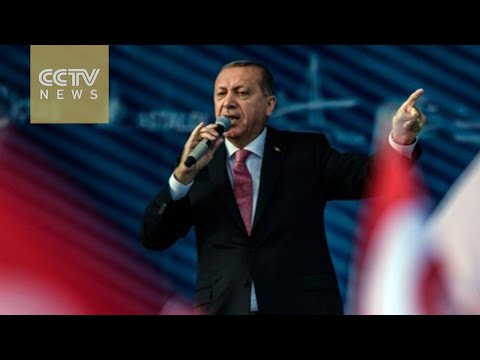 Erdogan vows fight against ISIL and Kurds in Syria