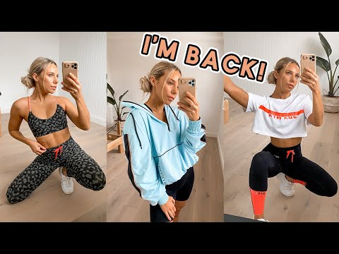 I Wasn't Sure If This Day Would Come...REBOOT! My COMEBACK Activewear Collection REVEALED!