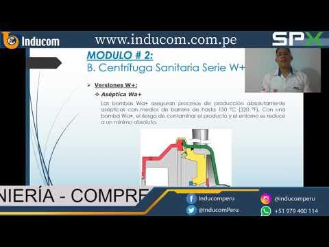 Bomba centrifuga sanitaria Serie W+ APV thumbnail