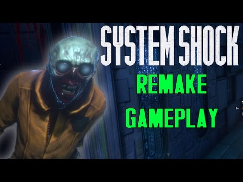 JIM THE ZOMBIE | System Shock Remake | Pre-Alpha Gameplay
