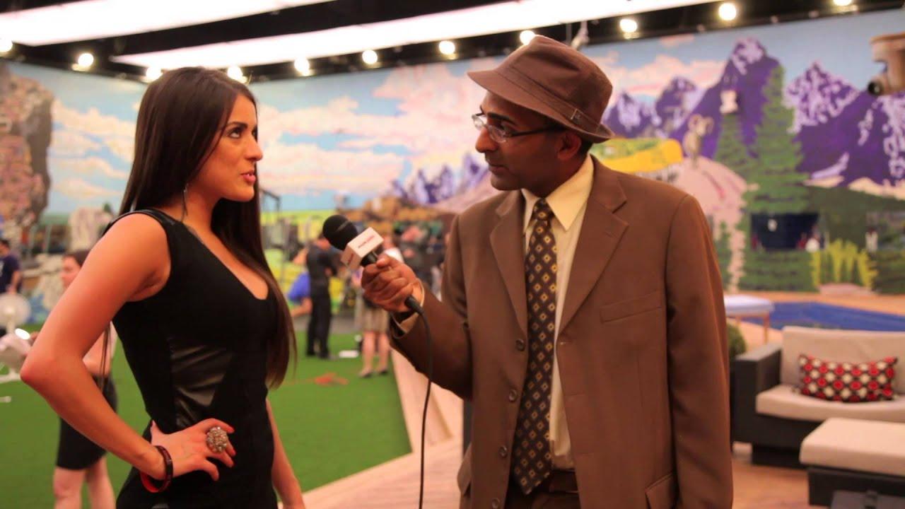 Murtz Jaffer Interviews Talla Rejaei In Backyard At Big ...