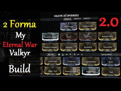 Warframe Valkyr Priem Build