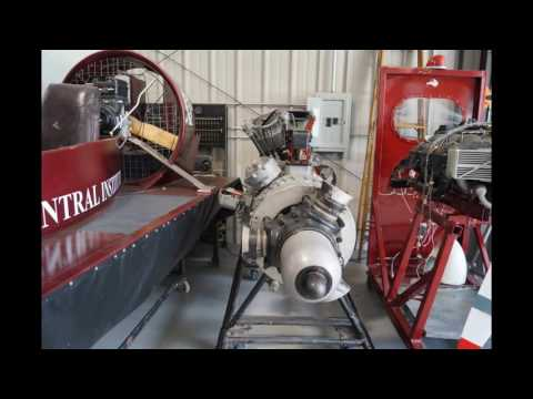 North Central Institute Aviation Maintenance School Training Lab