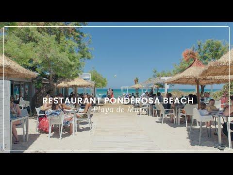 Restaurant Ponderosa Beach in Playas de Muro, Mallorca