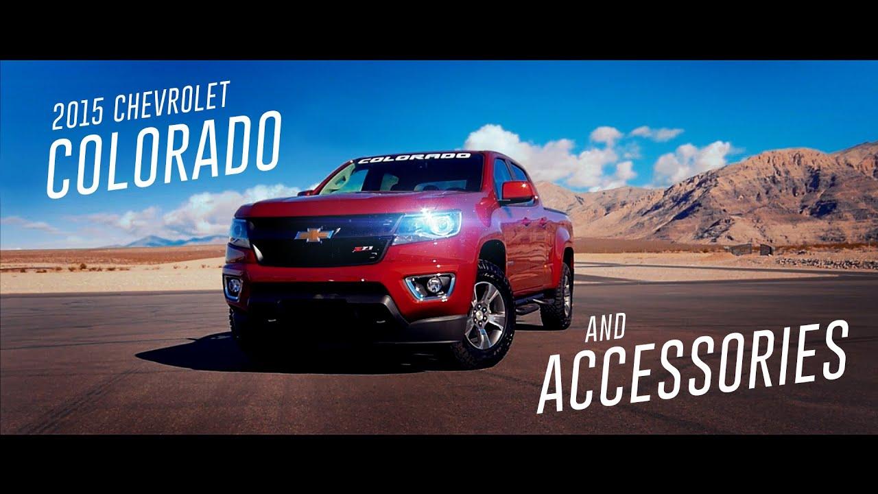 Chevy Colorado Accessories >> 2015 Chevrolet Colorado and Accessories - YouTube