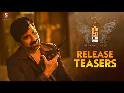 Disco Raja Release Teasers    Ravi Teja   Nabha Natesh   Payal   Vi Anand   SRT Entertainments letöltés