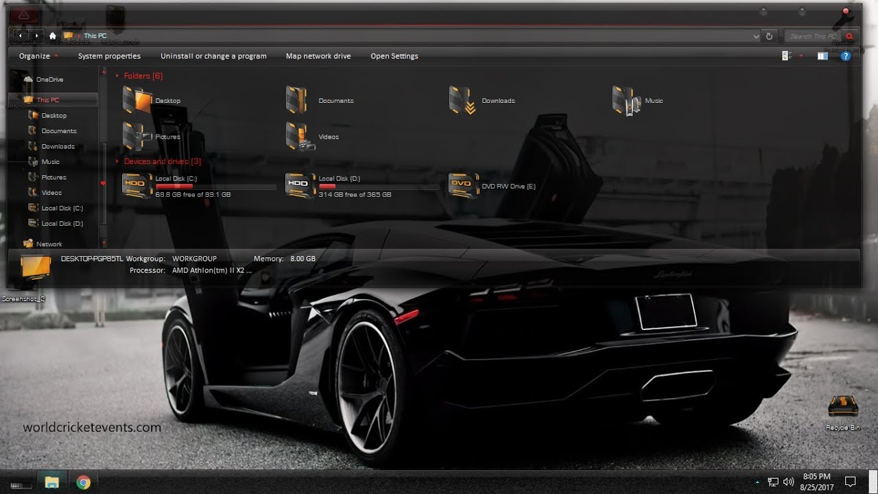 5 Car Themed Wallpapers For Ipad: Full Glass Theme For Windows 10