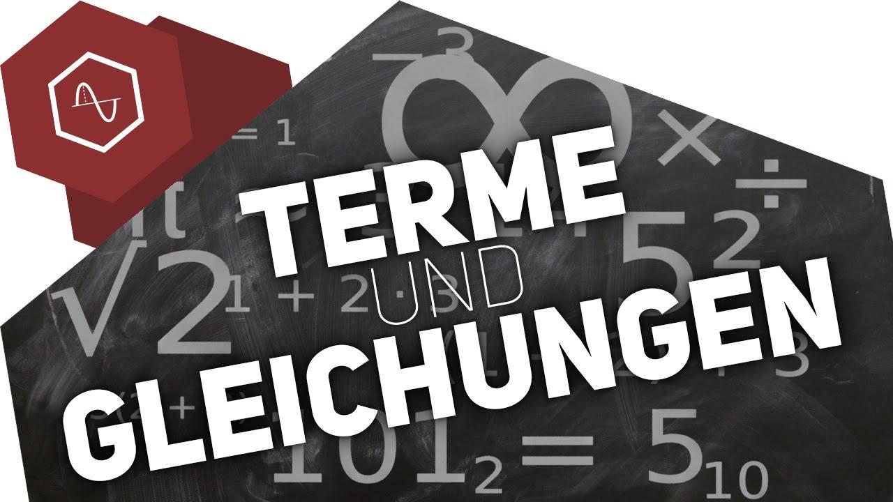 Download Terme & Gleichungen Unterschied -  Gleichungen lösen 2