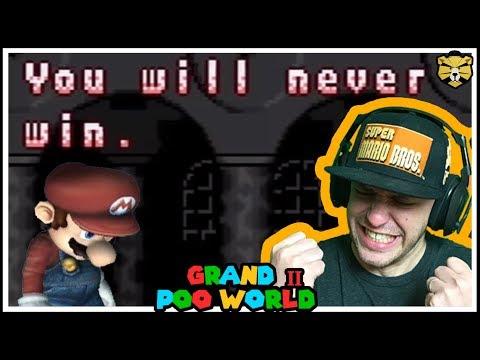 Multiple Endings? GRAND POO WORLD 2 Mario Romhack Part 15