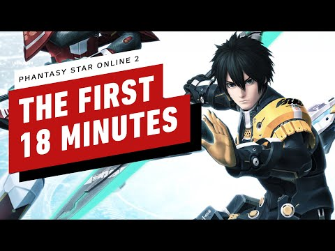 The First 18 Minutes Of Phantasy Star Online 2 (Xbox One)