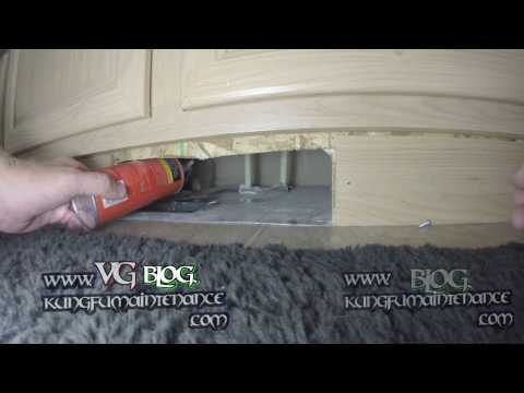 Very Common Mobile Manufactured Home AC Heat Duct Efficiency Loss Place