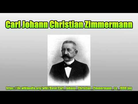 carl johann christian zimmermann youtube. Black Bedroom Furniture Sets. Home Design Ideas