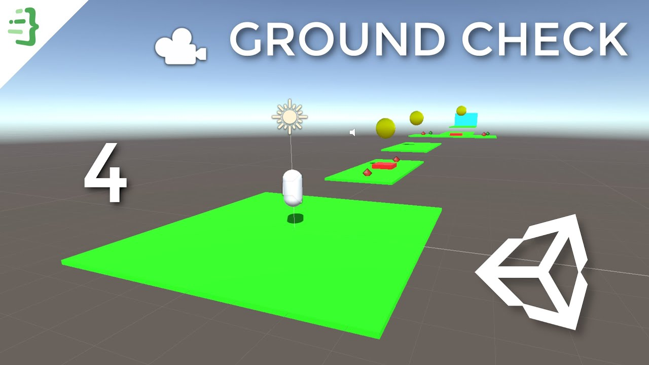 Grounding Check | Build Your First 3D Game in Unity #4