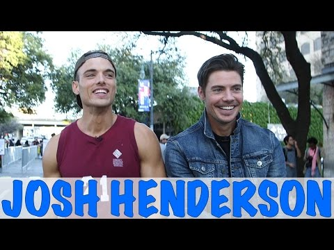 Josh Henderson's Embarrassing Teen Moment!