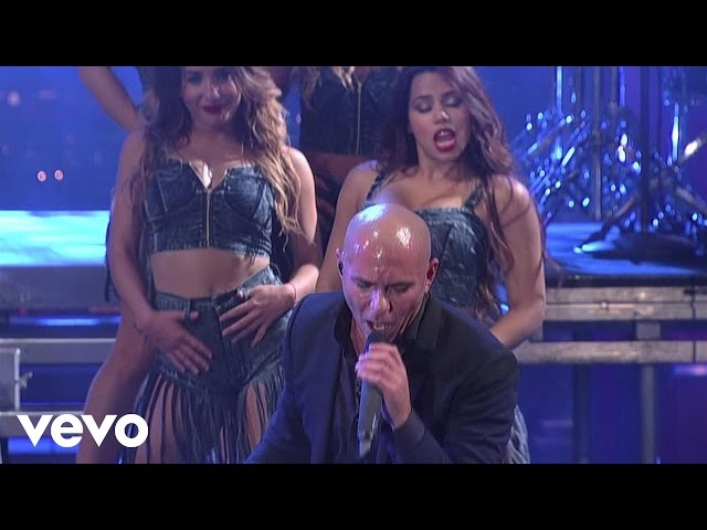 Pitbull – Timber (Live On Letterman)