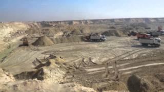 أول موقع حفر بعد مرور 140يوم
