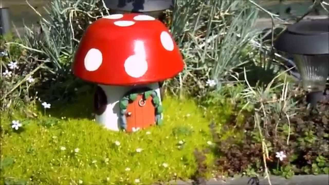Fairy House Make A Magical Garden With A Hand Made Solar