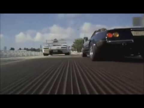 Miami Vice Chase Scene Lamborghini And Ferrari Crockett Speeding