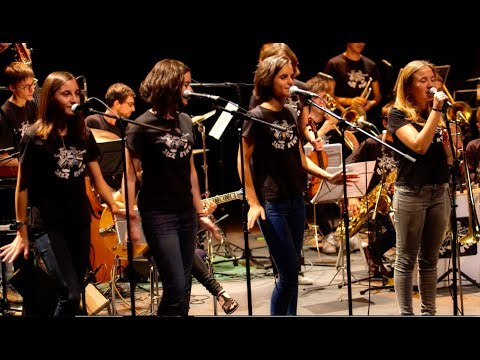 """unchain my heart""  Rita Payés Sant Andreu Jazz Band ( dirección Joan Chamorro )"